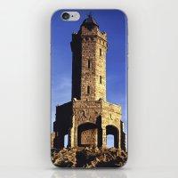 darwin iPhone & iPod Skins featuring Darwin Tower by Mycatkins