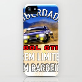 Rally Gol GTI iPhone Case