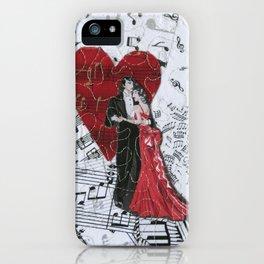 Romantic Ballroom Dancers iPhone Case