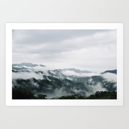 "Travel photography print ""Phetchabun Mountains"" photo art made in Thailand. Framed Art Print Art Print Art Print"