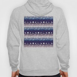 Mountains & Moons Stripe Hoody