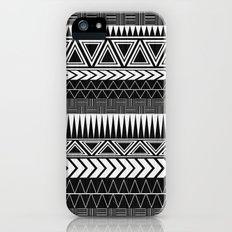 Tribal Monochrome. Slim Case iPhone (5, 5s)