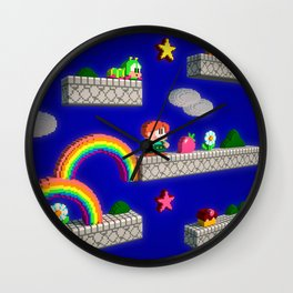 Inside Rainbow Islands Wall Clock