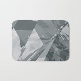 Ice cracks #2 Bath Mat