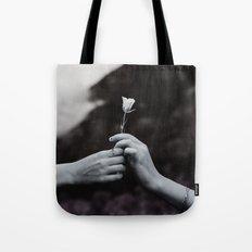 Love in Hands Tote Bag