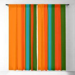 VIVID ART-DECO PATTERN Blackout Curtain