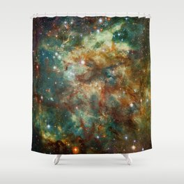 Part of the Tarantula Nebula Shower Curtain