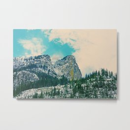 Swiss Mountain 2 Metal Print