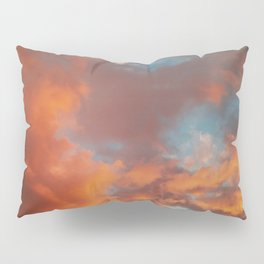 Clouds on Fire Pillow Sham