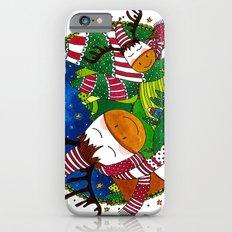 Christmas Reindeers iPhone 6s Slim Case