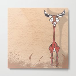 Good Looking Gerenuk Metal Print