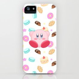 Kirby & Sweets iPhone Case