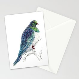 Mr Kereru, New Zealand native wood pigeon Stationery Cards