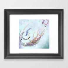 Wonderful Circles Framed Art Print