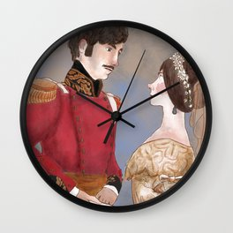 GLORIANA victoria and Albert Wall Clock