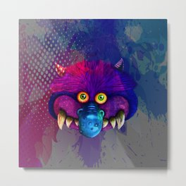Monster pop art Metal Print