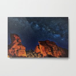 Milky Way View from the Grand Canyon Metal Print