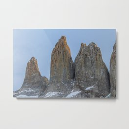 The Towers | Torres del Paine National Park, Patagonia Metal Print