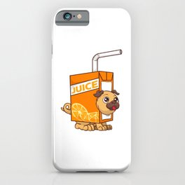 Cute & Funny Juice Puppy Dog Obsessed iPhone Case