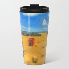 Hay Bales Travel Mug