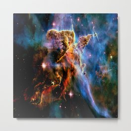 GAlAxY : Mystic Mountain Nebula Metal Print
