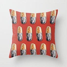 Wrapped Burritos Throw Pillow