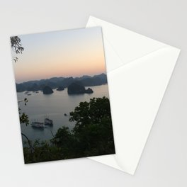 view of halong bay Stationery Cards