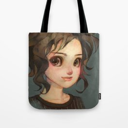 Subtle Smile Tote Bag