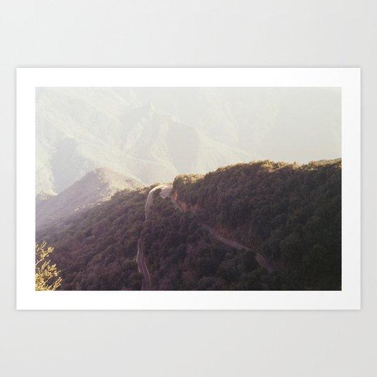 death of the wilderness. Art Print
