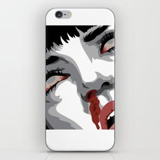 There goes mrs. Mia Wallace iPhone & iPod Skin