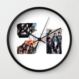 Falling in Reverse band Ronnie Radke Wall Clock