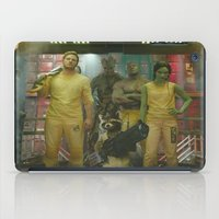 guardians of the galaxy iPad Cases featuring Guardians of The Galaxy by Kelsey