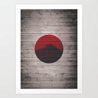 Minimalist Japan Art Print