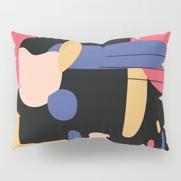 Abstract Color 2 Pillow Sham