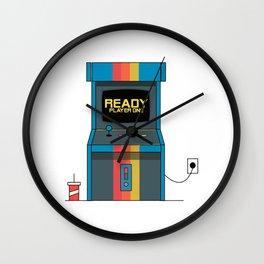 Ready Player One Arcade Machine Wall Clock