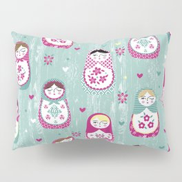 Matryoshka Dolls Pillow Sham