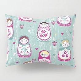 Matryoshka Dolls Pillow Sham