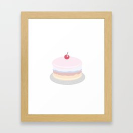 Cake Framed Art Print