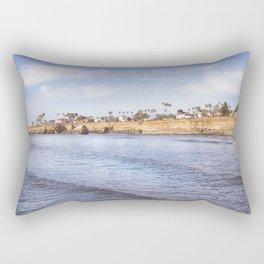 Sunset Cliff Rectangular Pillow