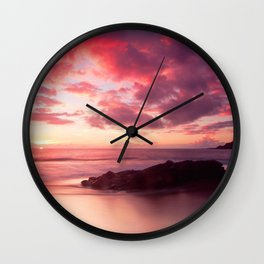 Sunset Sessions Wall Clock