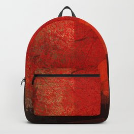 Red mood Backpack