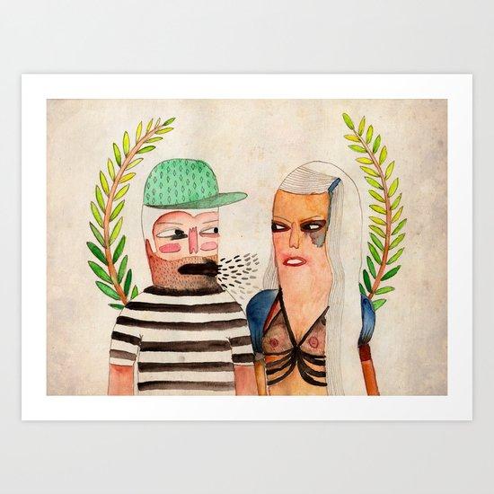 His 'N' Hers Art Print