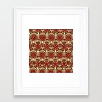 spice Framed Art Prints featuring Spice by Shelly Bremmer