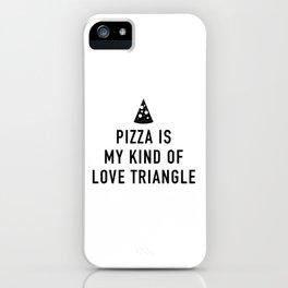 Love Triangle iPhone Case