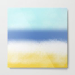 Sun Sea And Sand 2 Metal Print