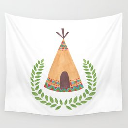 Tipi Wall Tapestry