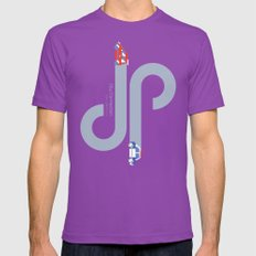 City Connection 2X-LARGE Mens Fitted Tee Ultraviolet