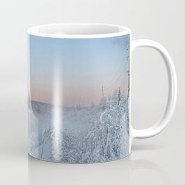Winter afternoon on the Chena River Coffee Mug