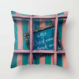 Out of Scones Throw Pillow