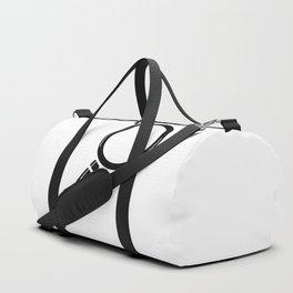 Magnifying Glass Cartoon Duffle Bag